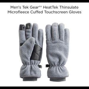 Other - Men's Microfleece Cuffed Touchscreen Gloves